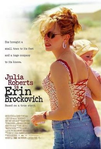 Erin Brockovich (film) - Theatrical release poster