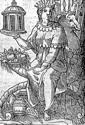 Four continents - Europa: woodcut in Ripa's Iconologia 1603