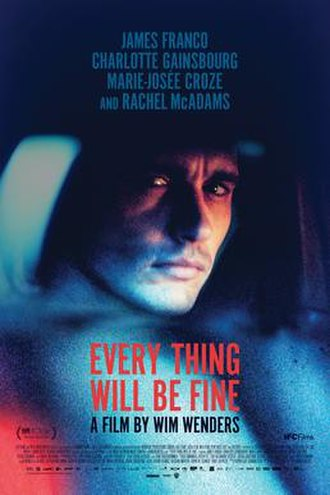 Every Thing Will Be Fine - Theatrical release poster