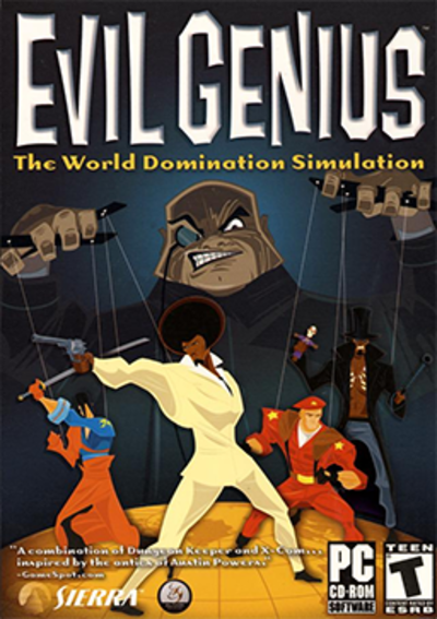 Picture of a game: Evil Genius