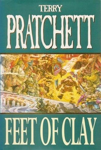 Feet of Clay (novel) - Image: Feet of clay 2