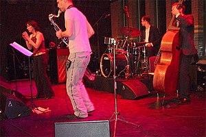 Esra Dalfidan - With Fidan performing live in the Beurs van Berlage, Amsterdam (1 December 2007)