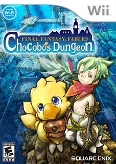 <i>Final Fantasy Fables: Chocobos Dungeon</i> video game