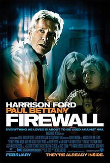 <i>Firewall</i> (film) 2006 British-American thriller film directed by Richard Loncraine