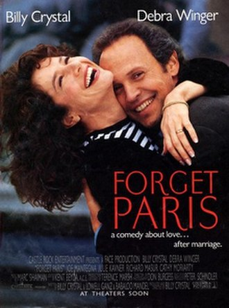 Forget Paris - Promotional movie poster for the film