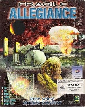 Fragile Allegiance - Australian cover art of Fragile Allegiance