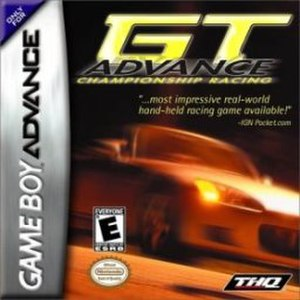 GT Advance Championship Racing - Image: GT Advance Championship Racing Cover Art