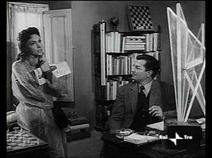 Gabriele Ferzetti - Ferzetti as a professor in an award winning role opposite Gina Lollobrigida in Mario Soldati's The Wayward Wife (La Provinciale, 1953)