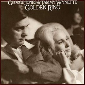Golden Ring (album) - Image: George Jones & Tammy Wynette Golden Ring Epic Records