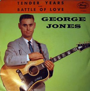 Tender Years - Image: George Jones Tender Years Single