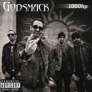 1000hp - Image: Godsmack 1000hp single artwork