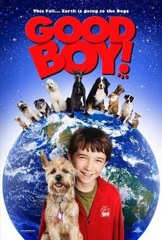 Good Boy! - Theatrical release poster