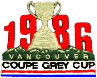 74th Grey Cup - Image: Grey 86