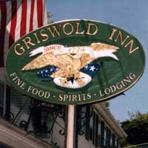 The Griswold Inn - The Griswold Inn sign, May 15, 1999