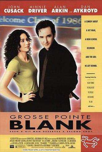 Grosse Pointe Blank - Theatrical release poster