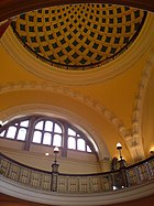 Ceiling of Aston Webb building