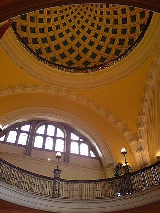 University of Birmingham - Ceiling of the Aston Webb building