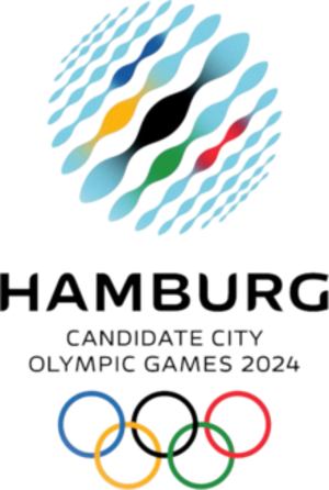 Hamburg bid for the 2024 Summer Olympics - Image: Hamburg 2024 Olympic Logo