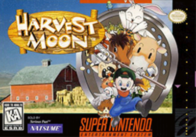 Picture of a game: Harvest Moon