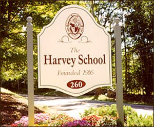 The Harvey School - Image: Harvey Sign