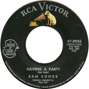 Having a Party (song) - Image: Having a Party