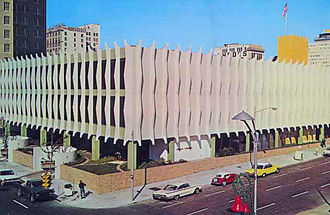 W. Haydon Burns - Haydon Burns Library in 1968