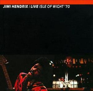 Live Isle of Wight '70 - Image: Hendrixwight 70