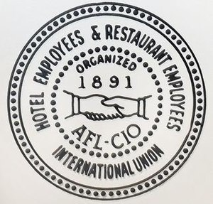 Hotel Employees and Restaurant Employees Union - Image: Hotel Employees and Restaurant Employees Union logo