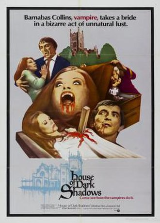 House of Dark Shadows - Promotional film poster