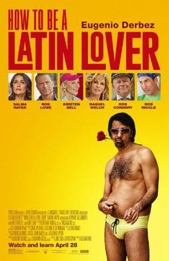How to Be a Latin Lover - Theatrical release poster
