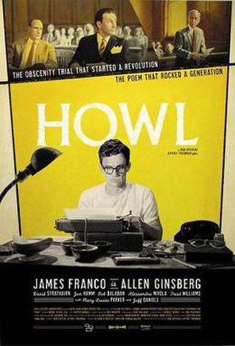 Howl (2010 film) - Theatrical release poster