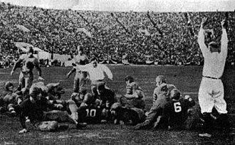 Pooley Hubert - Image: Hubert Rose Bowl TD