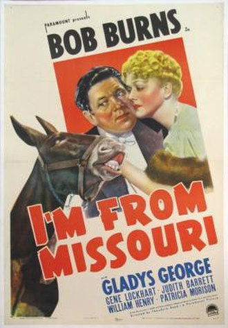 I'm from Missouri - Theatrical release poster