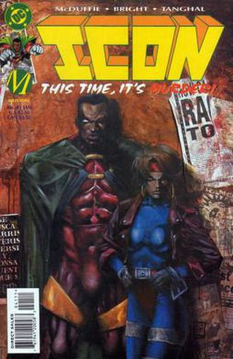 Icon (comics) - Image: Icon M0