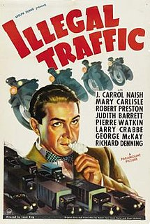 <i>Illegal Traffic</i> 1938 film by Louis King