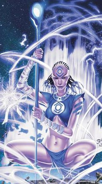 Indigo Tribe - Indigo-1, leader of the Indigo Tribe.