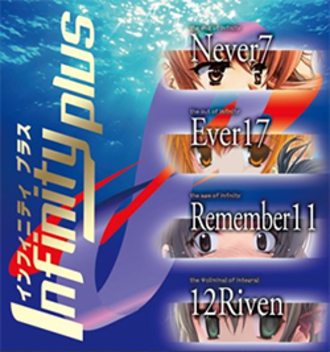 Infinity (video game series) - Cover for the Infinity Plus collection, featuring artwork from the first four games