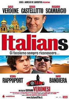 <i>Italians</i> (film) 2009 film by Giovanni Veronesi