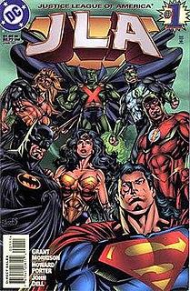 <i>JLA</i> (comic book) comic book (1997-2006)