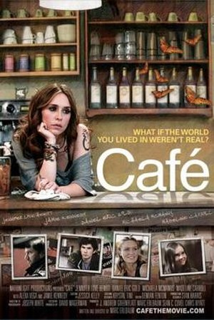 Café (film) - Café promotional poster