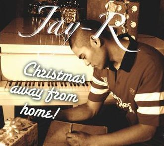 Christmas Away from Home - Image: Jay R Christmas Away From Home album cover front