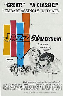 <i>Jazz on a Summers Day</i> 1960 film by Bert Stern, Aram Avakian