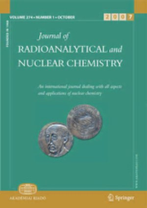 Journal of Radioanalytical and Nuclear Chemistry - Image: Journal of Radioanalytical and Nuclear Chemistry