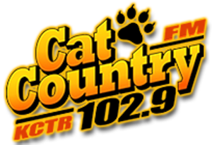 KCTR-FM - Image: KCTR Cat Country 102.9 logo