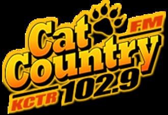 KCTR-FM - Image: KCTR Cat Country 102.9 logo