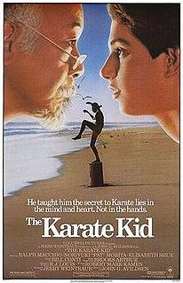 <i>The Karate Kid</i> 1984 American martial arts romantic drama film directed by John G. Avildsen