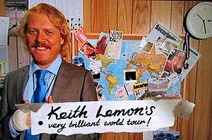 Keith Lemon's Very Brilliant World Tour - Image: Keithlemonworldtour