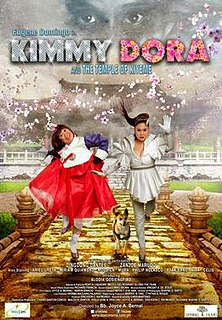 <i>Kimmy Dora and the Temple of Kiyeme</i>