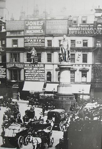 King William Street, London - Image: King William Street 1890