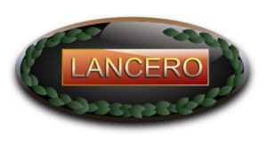 Lancero - Lancero insignia as worn by military personnel upon completion of the course.
